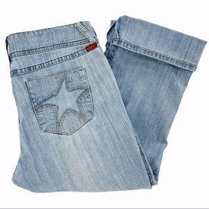 y2k Vibes Stretch Capri Length Jeans